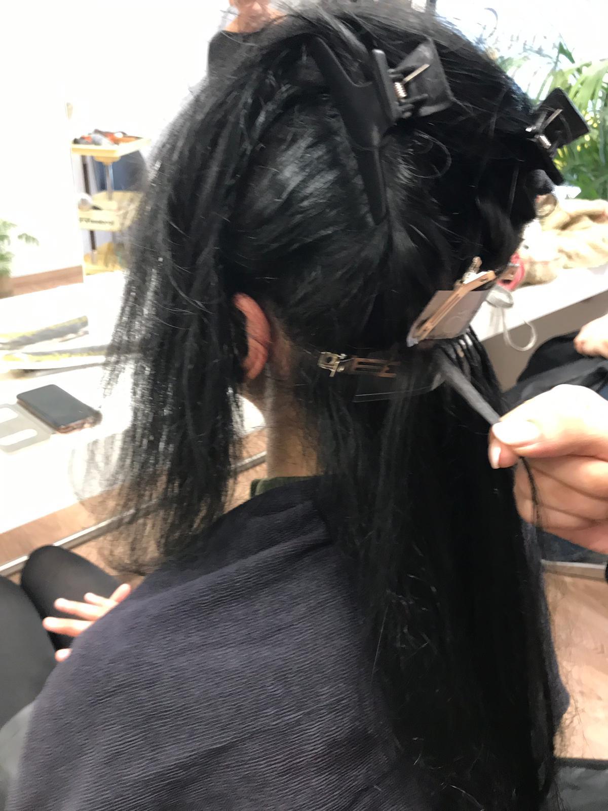 Haarverlängerung mit Great Lengths - Friseursalon Pervin